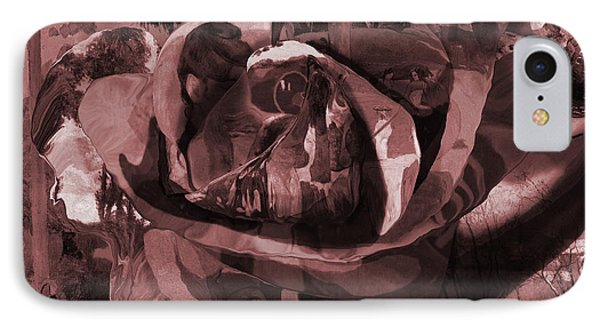 Rose No 2 IPhone Case by David Bridburg