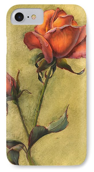 Rose IPhone Case by Sherry Shipley