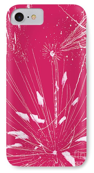 Rose Splash IPhone Case by Methune Hively