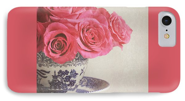 IPhone Case featuring the photograph Rose Tea by Lyn Randle