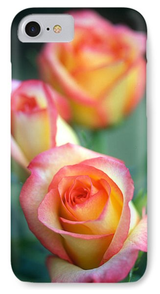 Rose Trio Phone Case by Kathy Yates