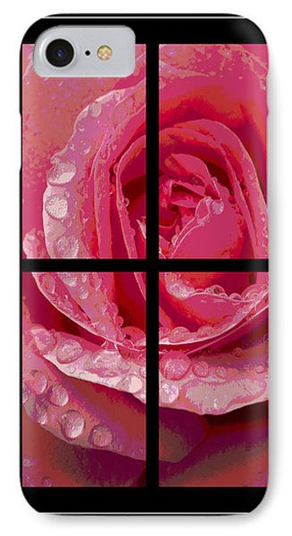Rose Window IPhone Case by Hazy Apple