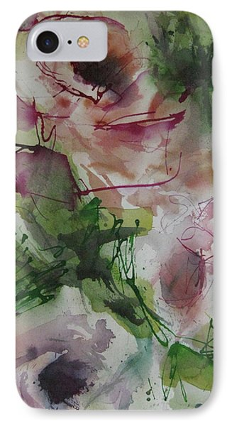 IPhone Case featuring the painting Rosebuds by Robert Joyner