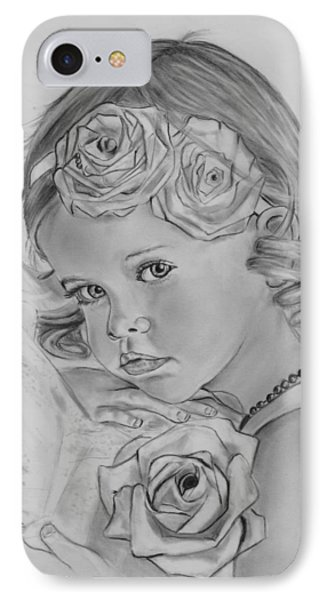 Rosemary And Her Roses IPhone Case