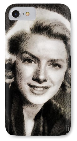 Rosemary Clooney, Music Legend IPhone Case by John Springfield