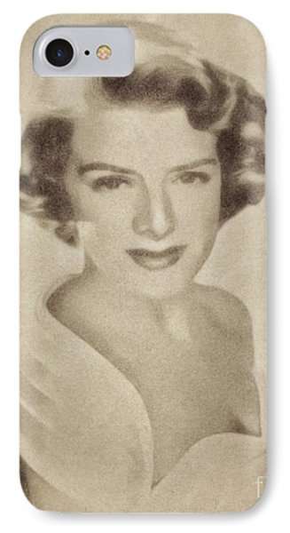Rosemary Clooney, Singer And Actress By John Springfield IPhone Case by John Springfield