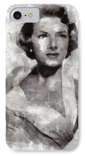 Rosemary Clooney, Singer IPhone Case by Mary Bassett