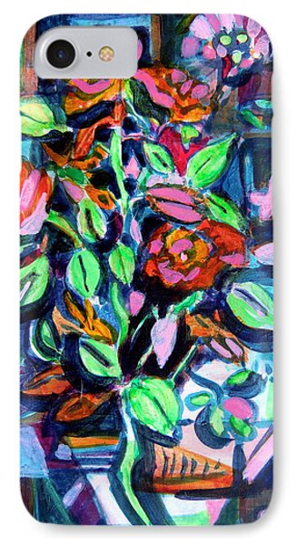 Roses Abstract Phone Case by Mindy Newman