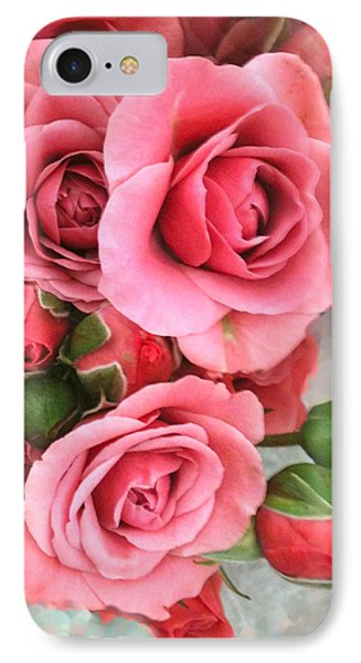 Roses And Buds Phone Case by Debra     Vatalaro
