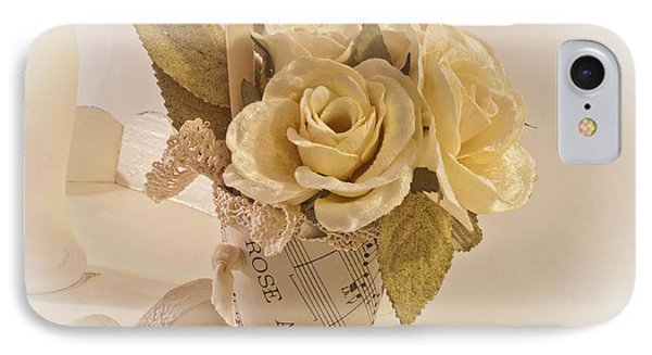 Roses And Butterfly Posy  Phone Case by Sandra Foster