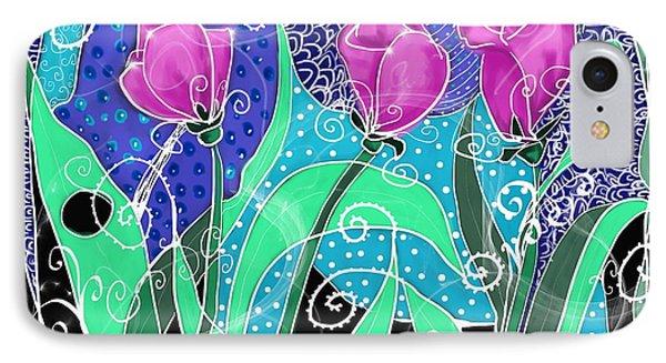 Roses And Lemons IPhone Case by Debra Baldwin