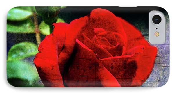 Roses Are Red My Love Phone Case by Susanne Van Hulst