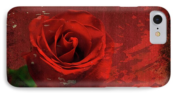 IPhone Case featuring the photograph Roses Are Still Red by Bonnie Willis