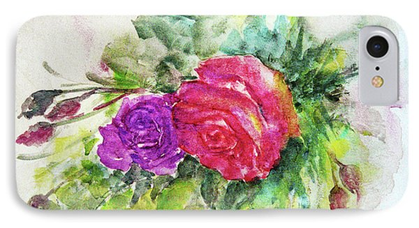 Roses For You IPhone Case by Jasna Dragun