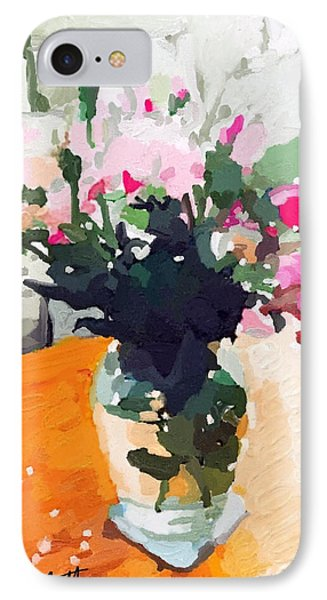 Roses In The Living Room IPhone Case