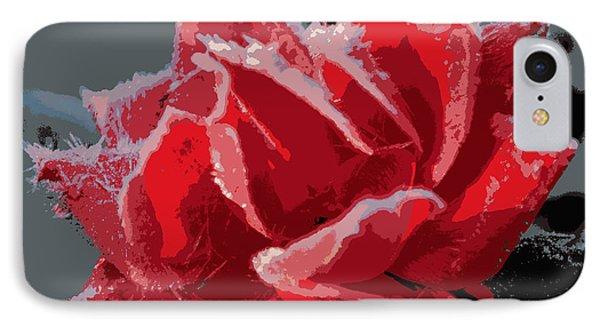 Roses In Winter IPhone Case by Dianne Cowen