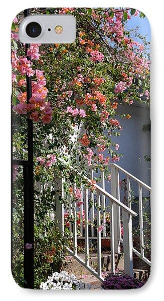 Roses In Winter Phone Case by Susanne Van Hulst