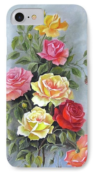 Roses IPhone Case by Katia Aho