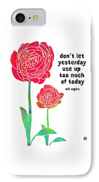 IPhone Case featuring the painting Roses by Lisa Weedn