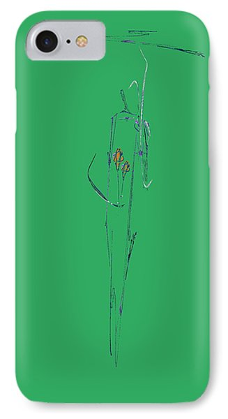 Roses Under Umbrella Phone Case by Viktor Savchenko