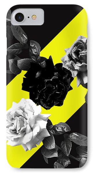 Roses Versus Yellow IPhone Case