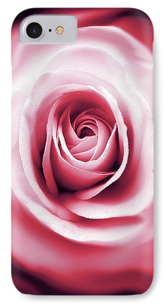 Rose's Whispers Magenta  Phone Case by Jennie Marie Schell