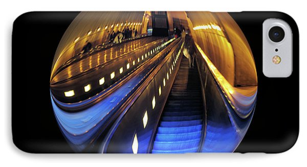 Rosslyn Metro Station IPhone Case by John S