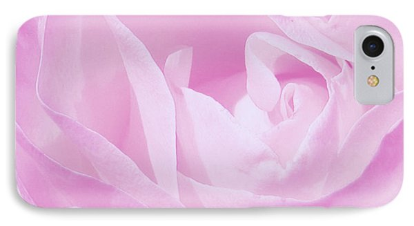 Rosy Cheek Pink IPhone Case by Janice Westerberg