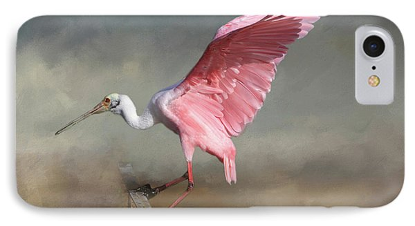 IPhone Case featuring the photograph Rosy by Donna Kennedy