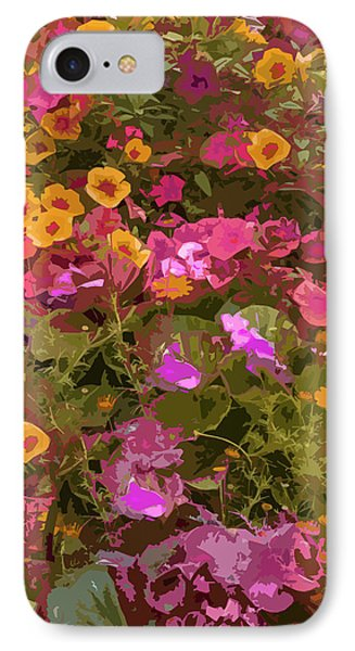 Rosy Garden IPhone Case