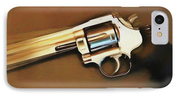 Rotating Revolver IPhone Case