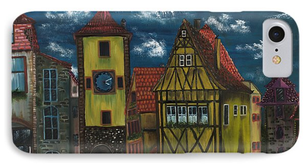 Rothenburg Ob Der Tauber IPhone Case by The GYPSY And DEBBIE