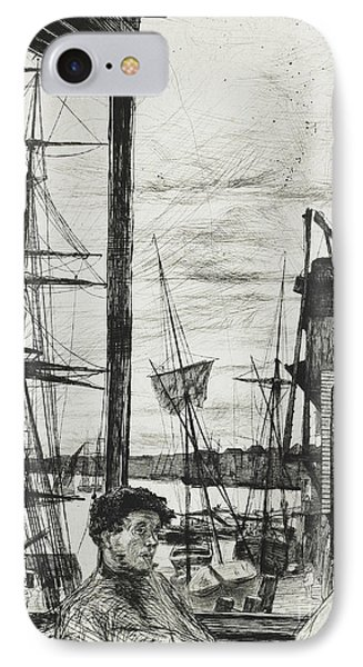 Rotherhithe IPhone Case by James Abbott McNeill Whistler