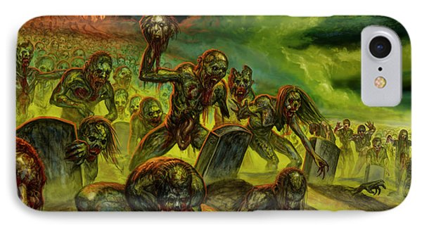Rotten Souls Taint The Land IPhone Case by Tony Koehl