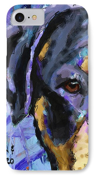 Rottweiler IPhone Case by Ron and Metro