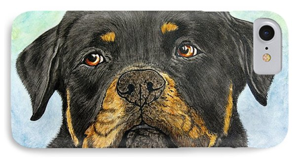 Rottweiler's Sweet Face 2 IPhone Case