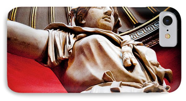 Rotunda Colossals 2 Of 3 Vatican Museum Ancient Statues Rome Italy Phone Case by Andy Smy