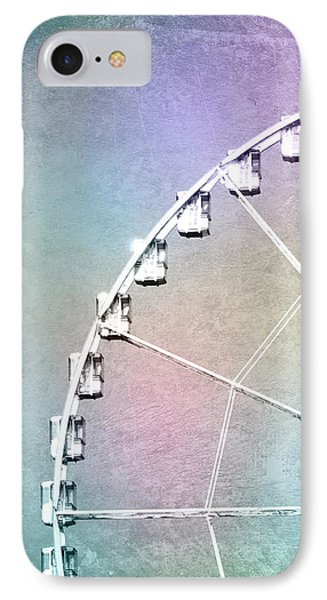 Roue De Paris - Ferris Wheel In Paris IPhone Case by Melanie Alexandra Price