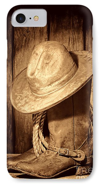 Rough Rider IPhone Case by American West Legend By Olivier Le Queinec