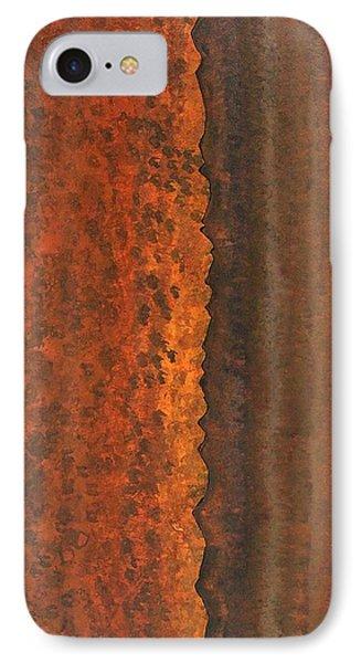 Rough Timber Original Painting IPhone Case