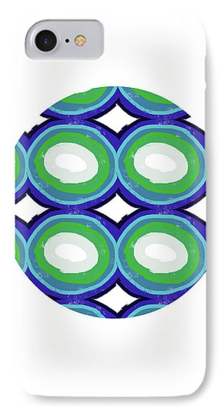 Round And Round Ball- Art By Linda Woods IPhone Case