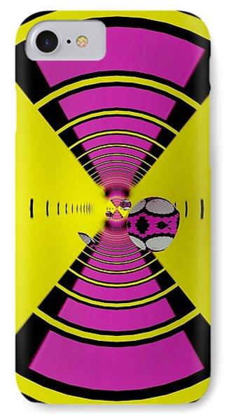 IPhone Case featuring the digital art Round Ball Art by Sheila Mcdonald