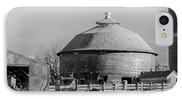 IPhone Case featuring the photograph Round Barn by Dan Traun