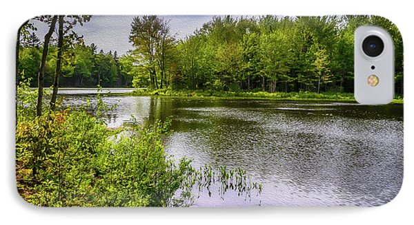 IPhone Case featuring the photograph Round The Bend In Oil 36 by Mark Myhaver