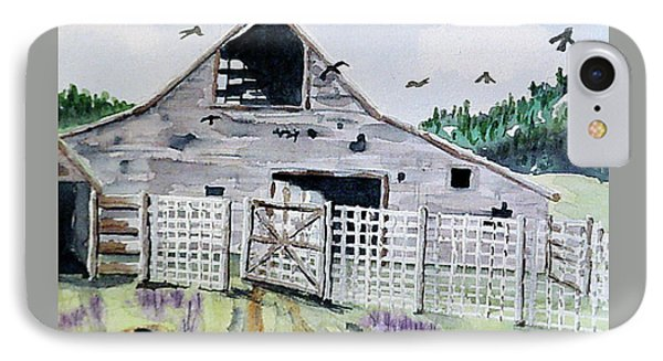 Round Valley Barn, Idaho IPhone Case