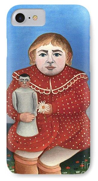Rousseau: Child/doll, C1906 Phone Case by Granger