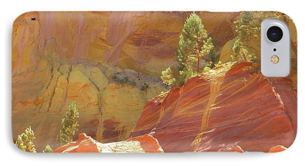 IPhone Case featuring the photograph Roussillon Colours by Manuela Constantin