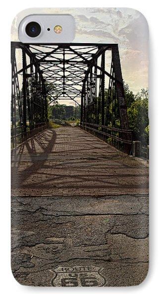 Route 66 Bridge IPhone Case