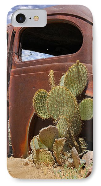 Route 66 Cactus Phone Case by Mike McGlothlen