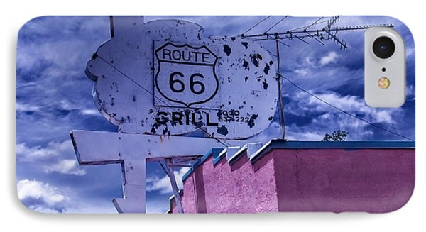 Route 66 Grill IPhone Case
